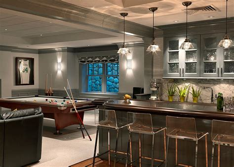 great finished basement design ideas for modern house 27 basement bars that bring home the times