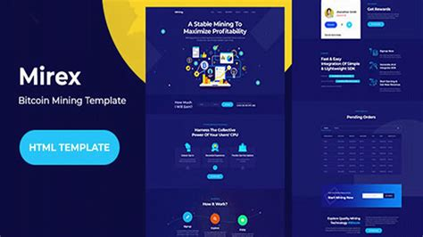 Get 436 bitcoin website templates on themeforest. MiRex - Bitcoin Mining HTML Template | Themeforest Website Templates and Themes - YouTube