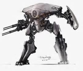Sci-Fi Mech Concept Art