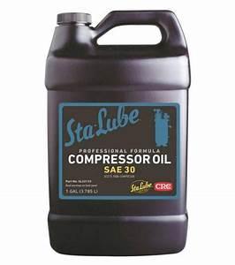 CRC SL22133 Sta Lube Air Compressor Oil 1 Gallon