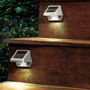 solar powered led light pathway path stair wall mounted garden l cis 57163 743273 2016 11 99