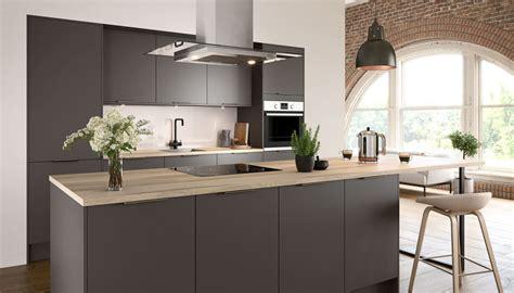 nova matt slate kitchen style kitchens magnet trade