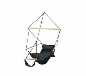 Pied Pour Fauteuil Suspendu : fauteuil suspendu design swinger noir amazonas ~ Teatrodelosmanantiales.com Idées de Décoration