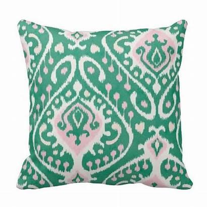 Zazzle Ikat Textured Chic Pillow Pillows