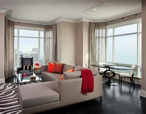 Lincoln Park Luxury High Rise Model Apartments Designed by