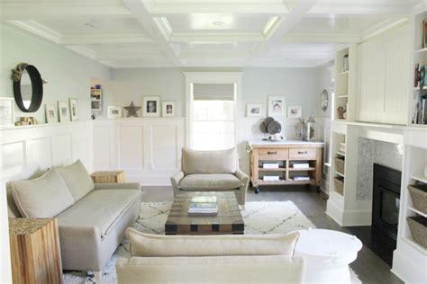 Modern Parisian Living Room Reveal Wainscoting, Paint