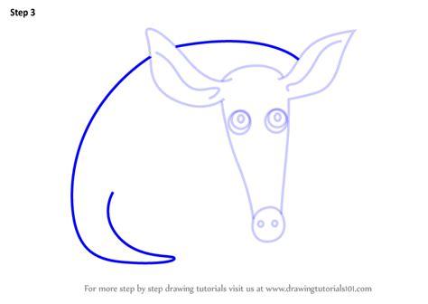 learn   draw  aardvark  kids animals  kids