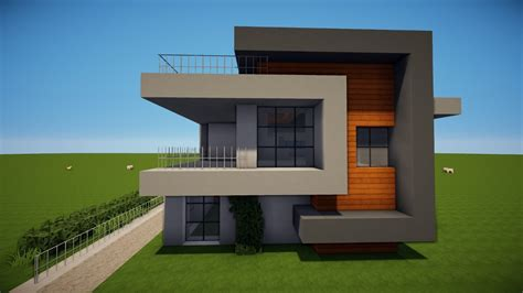 Hauser Bauen by Modernes Haus Minecraft Myappsforpc Org