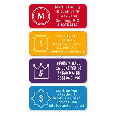 labels personalised kids labels  school