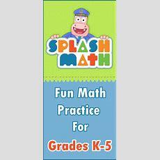 Splash Math  Grades 1 To 5 Fun Math Practice For Kids  Pinterest  Math, Kid And Fun
