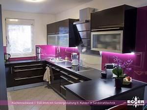 Rückwände Für Küchen : k chen r ckwand verglasungen egger glas ~ Watch28wear.com Haus und Dekorationen