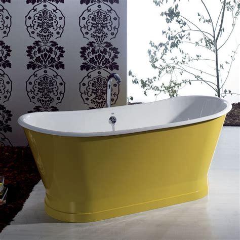vasca da bagno in vasca da bagno freestanding in ghisa colorata dal design