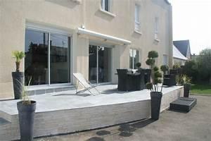 amenagement d39une cour pour une maison de ville moderne With amenagement d une terrasse exterieure