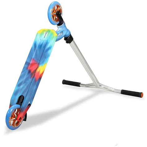 stunt scooter shop mgp vx6 tie dye stunt scooter mid june scooters stunts and june
