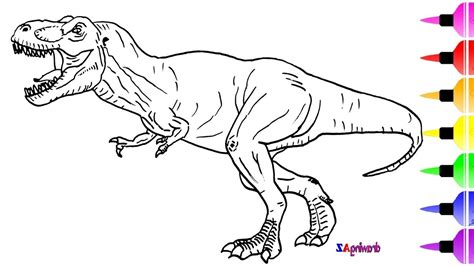 jurassic world coloring pages jurassic world coloring pages aqh   draw  dinosaur