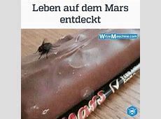 Leben auf dem Mars Fliege auf Mars Schockolade Anti