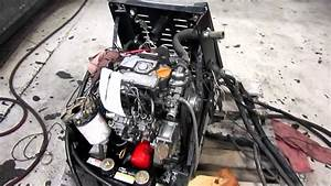 Ingersoll Rand Tk270m Diesel Engine Running Apu