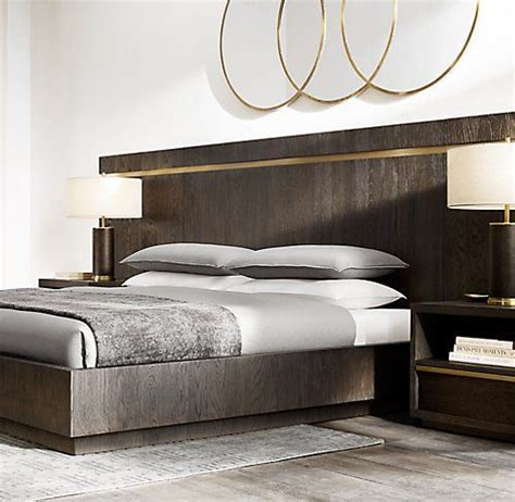 bezier bed collection rh modern luxurious bedrooms