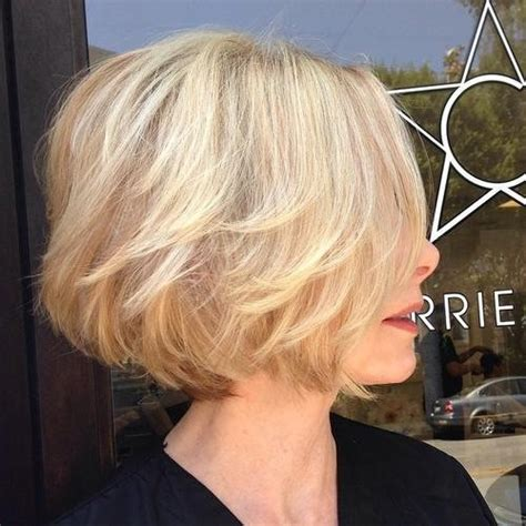 trendy ways  style  blonde bob popular haircuts