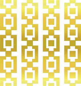 Clipart - Gold Square Pattern