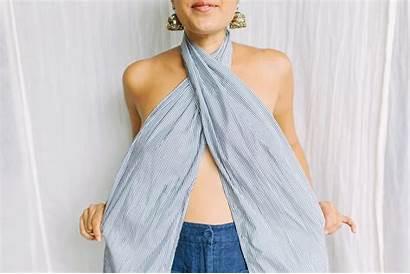 Tie Diy Wrapped Wear Wrap Scarf Fabric