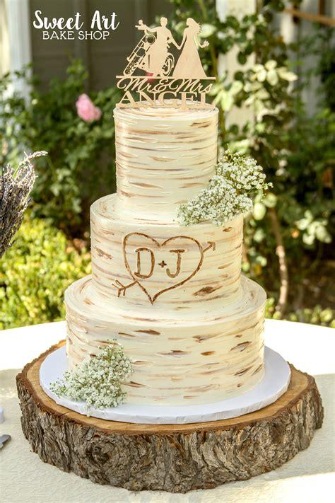 2 Tier Rustic Wedding Cakes Weddings234
