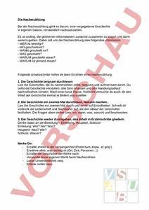 Arbeitsblatt  Tipps Zur Nacherz U00e4hlung - Deutsch