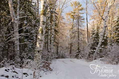the clearing door county frykman studio gallery door county wisconsin winter