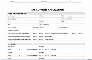 Employment application template microsoft word templates resume examples j1ak59yame for Application templates for word
