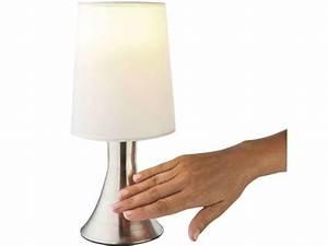 Lampe De Chevet Tactile Conforama : lampe de chevet tactile vente de lampe conforama ~ Melissatoandfro.com Idées de Décoration