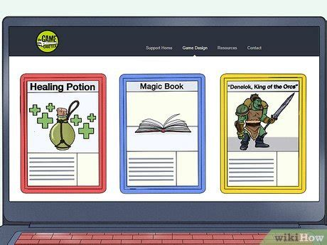 card game template  card game