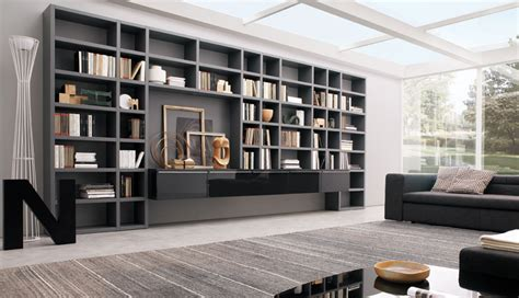 Living Room Wall Shelving Units by 20 Modern Living Room Wall Units For Book Storage From