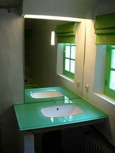 Vasque En Verre : plan vasque en verre pas cher ~ Melissatoandfro.com Idées de Décoration