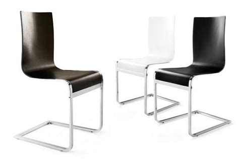 Stuhl Freischwinger Holz by Designer Freischwinger Stuhl Aus Holz Und Verchromtem