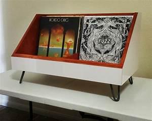 meuble vinyle 35 idees design et pratiques pour votre With meuble rangement pour disque vinyle