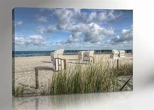 Leinwand Xxl Kaufen : ostsee strandkorb bild 100x70 leinwand canvas inkl keilrahmen 2350 ebay ~ Whattoseeinmadrid.com Haus und Dekorationen