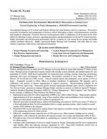 resume information technology manager best consulting resumes exle writing resume sle writing resume sle