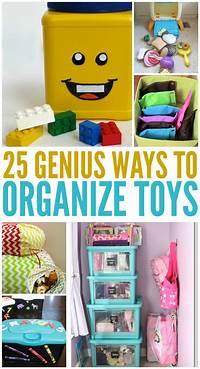 toy organization ideas 25 Genius Ways to Organize Toys
