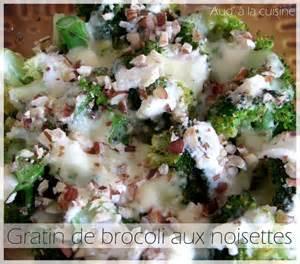 aud a la cuisine gratin de brocoli aux noisettes aud 39 à la cuisine