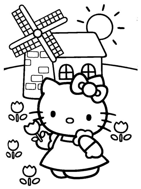 Hello Kitty Coloring Pages Realistic Coloring Pages
