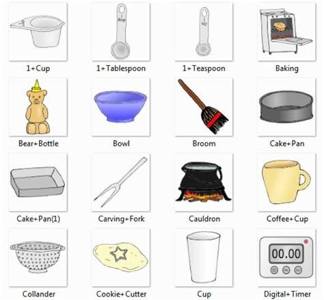 kitchen accessories names with pictures 17 best images about picture dictionaries on 7639