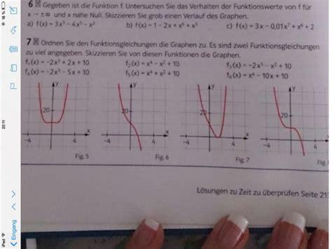 achsen und punktsymmetrie funktionen den graphen