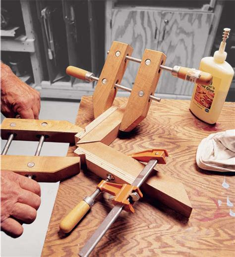 aw extra   tips  gluing miters popular