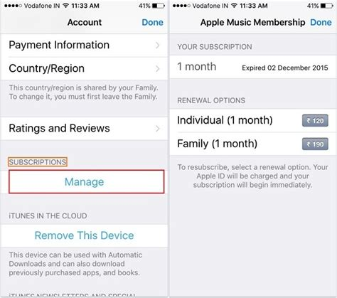 how to turn automatic renewal on iphone how to cancel membership on iphone