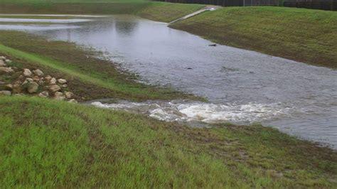 drainage system bayou bendgarlic creek youtube