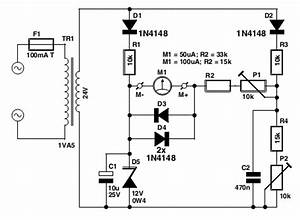 voltmeter circuit page 2 meter counter circuits nextgr With figure 91 basic block diagram of a frequency counter
