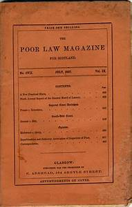 The Poor Law Magazine for Scotland
