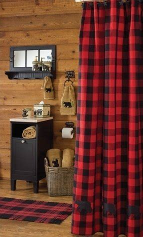 Red Plaid Shower Curtain   Foter