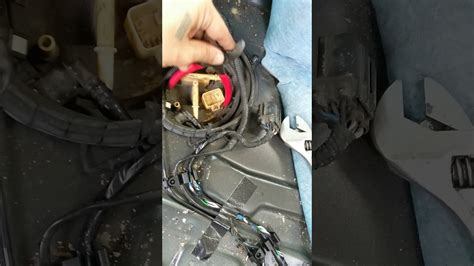 removing volvo  fuel pump ring youtube