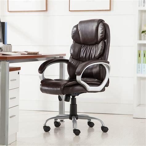 pu leather ergonomic high back executive best desk task